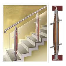 Stair Banister Glass Steel Plus Railing Solution Steel Plus Fabrication Hardware