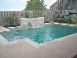 Backyard Gold Rectangle Pools Gold Coast By Design Pools Gold Coast Cnt For