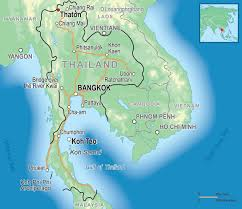 Map Of Thailand Volunteer In Thailand U2022 Adventure Travel U0026 Volunteering U2022 Africa