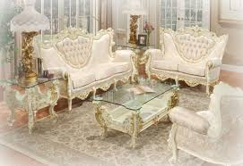 Victorian Living Room Furniture by Grande White Victorian Living Room Idea Victorian Style Living