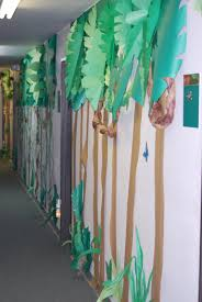 room decor jungle hallway decorations jungle decorations for