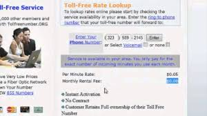 how to get your own toll free numbers 800 numbers with no