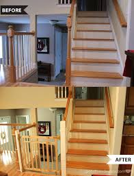 Child Proof Banister Baby Proofing Installing The Gate Baby Gates Banisters And Tea