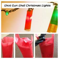 shotgun shell christmas lights shotgun shell christmas lights diy easy craft ideas