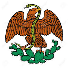 Mexican Flag Stencil Eagle Clipart Mexican Eagle Pencil And In Color Eagle Clipart