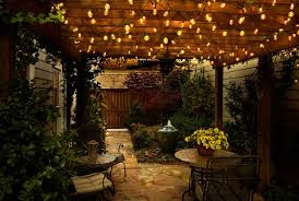 remarkable decoration lights for patio easy outside lights for