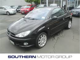 peugeot black peugeot 206 cc 1 6 cabriolet 2003 used peugeot new zealand