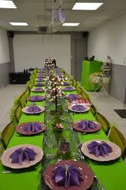 set de table originaux table de baptême sur le thème fée clochette tinkerbell