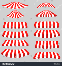 types of red colors vector set red white tents on stock vector 280617215 shutterstock