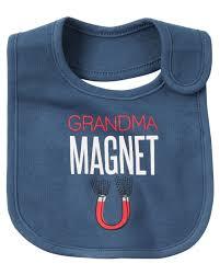 halloween bib grandma magnet teething bib carters com