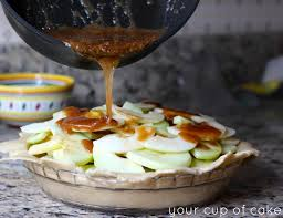 thanksgiving apple pie recipe caramel apple pie your cup of cake