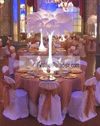ostrich feather centerpiece feather plume palm tree white ostrich feather plumes centerpieces