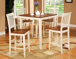 tall white kitchen table 47 kitchen table stools set pub set 5pc square counter height