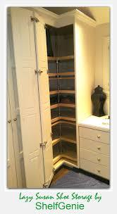 best 25 slide out shelves ideas only on pinterest sliding floor to ceiling corner lazy susan cabinet corner closet organization from shelfgenie of seattle pull