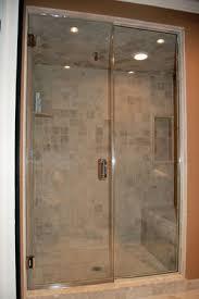 Frameless Steam Shower Doors Inline Door And Panel Showers Agurglass