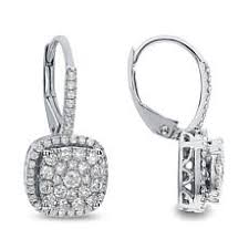 earrings diamond diamond earrings hsn