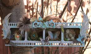 ginas designs home decor with a nature assemblage and a valentine