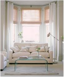 Windows Curtains Bay Window Curtains Straight Across To Allow More Light Love The