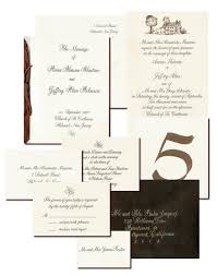 Samples Of Wedding Invitations Cards Wedding Calligraphy Custom Wedding Invitations And Wedding Sets