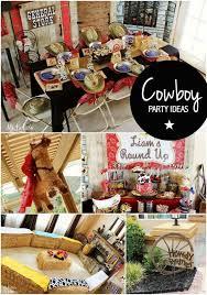 Cowboy Table Decorations Ideas A Western Cowboy U0027s Birthday Party Spaceships And Laser Beams
