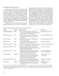 Program Paper Academic Year 2013 2014 Graduate Research Award Program On