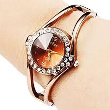girls bracelet watches images Cheap womens new trend luxurious rhinestone hollow bracelet jpeg