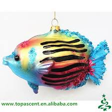 animated blown hanging glass fish ornaments