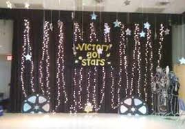 talent show decorations school stage ideas