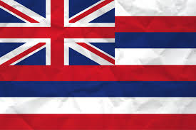 The Flag Of Usa Flag Of Hawaii With Paper Texture Download It For Free