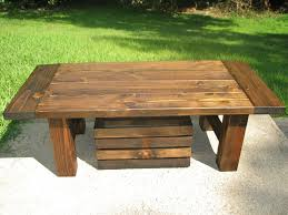 country coffee tables for the room with rustic decoration style