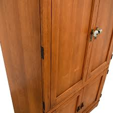 buy wood 63 wood armoire media cabinet storage