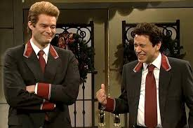 snl u0027 deleted scene bill hader and fred armisen up as