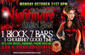 old sacramento u0027s halloween party u2013 nightmare on 2nd street feat
