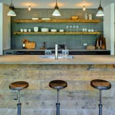 reclaimed wood kitchen island photos hgtv