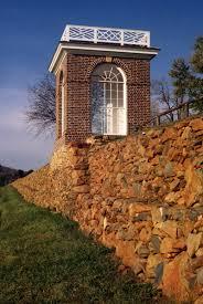 vegetable garden terrace wall thomas jefferson u0027s monticello