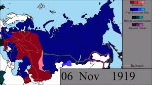 Civil War States Map The Russian Civil War Every Other Day Youtube