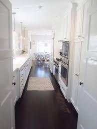 Narrow Galley Kitchen Design Ideas Kitchen Cabinets White Kitchens With Granite Worktops Small