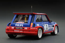 renault 5 rally headliner 1 43 renault 5 maxi turbo 3 1985 tour de corse scale