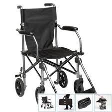 Drive Wheel Chair Travelite Transport Wheelchair Transport Chair In A Bag
