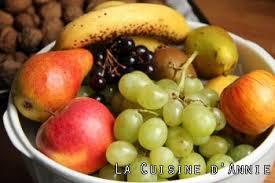 cuisine d automne recette corbeille de fruits d automne la cuisine familiale un