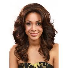 bobbi boss premium synthetic lace front wig mlf14s pearl short