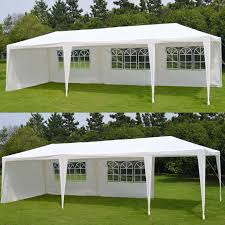 amazon com benefitusa wedding party tent 10 u0027x30 u0027 camping outdoor