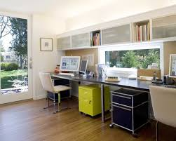 amenagement bureau domicile his desks i would like to his and whole offices but