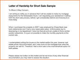 4 hardship letter sample adjustment letter