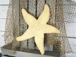 cool large white starfish wall decor gorgeous diy starfish wall