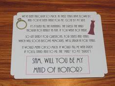 asking of honor ideas awesome way to ask your friend to be the of honor and how