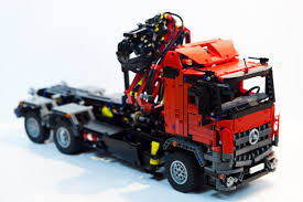 lego technic lego technic mercedes arocs hook lift