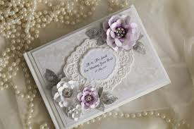 purple wedding guest book purple and silver wedding guest book any occasion wedding