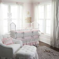 White Ruffled Curtains For Nursery by Bedroom Pink And White Ruffle Comforter For Nursery Decoration Ideas