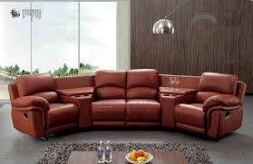Round Sofa Set Designs Genuine Leather Recliner Sofa Set Revistapacheco Com